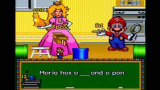 Let's Play Mario's Early Years: Fun With Letters