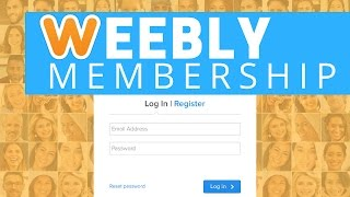 Weebly Membership - Membership Sites Made Easy, I mean REALLY easy!