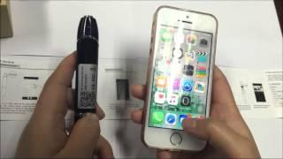 WiFi Cloud IP Pen Camera RL107: local & remote live streaming