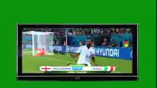 Inglaterra vs Italia 1-2 || Resumen y goles || Mundial 2014 14.06.14