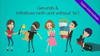 Gerunds and Infinitives (Verbs): Fun & humorous ESL video to peak your students' engagement!