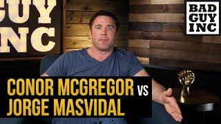Conor McGregor vs Jorge Masvidal has never been closer...