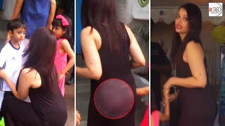 Aishwarya Rai Shows off her PANTY at a Birthday Party