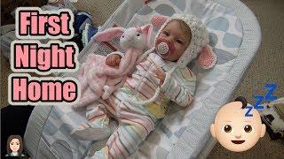 Reborn Baby Bridgette's First Night Home | Kelli Maple