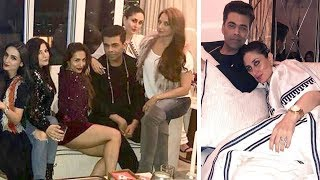 Malaika Arora's Christmas Party 2017 Full Video HD - Kareena Kapoor,Karishma Kapoor,Karan Johar