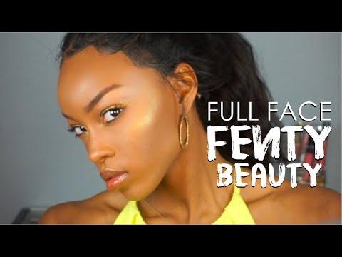 FULL FACE FENTY BEAUTY | RIHANNA INSPIRED LOOK