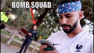 THIS IS WHAT HAPPENED.....WE GOT SWATTED!!