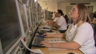 SES Satellite Operations Center (SOC), Luxembourg (footage)