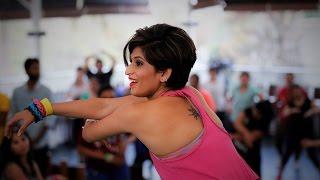 Zumba Fitness Routine By Vijaya on Imaginary / Imran Khan