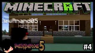 Minecraft Indonesia | Survival Pandawa Lima - RUMAH BARU!? #4