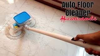 Automatic Floor Cleaning Machine - Homemade (Creative Life)