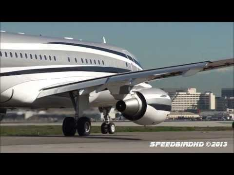 The Airbus Family at LAX - From A300 to A380 in SpeedbirdHD