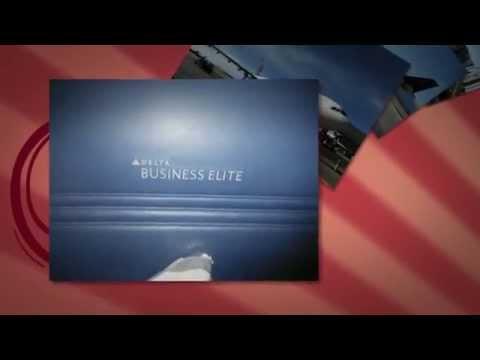 Delta Airbus 330 NEW Business Elite lie flat seats PERFECT
