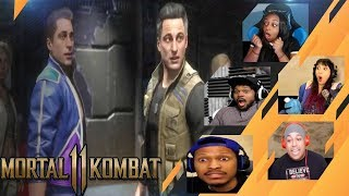 Gamers Reactions to Alternate Timeline Characters (Young vs Old) | Mortal Kombat 11