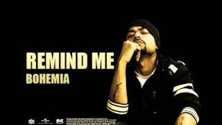 BOHEMIA - Remind Me (Official Audio)