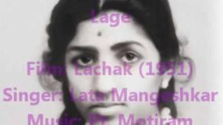 Lata Mangeshkar - TooTte Hi Dil - Lachak (1951)