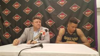 TigerNet.com - Oakland coach euphoric with win over Clemson