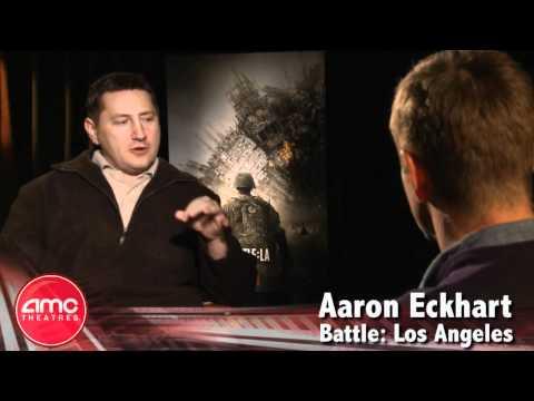 Aaron Eckhart Talks