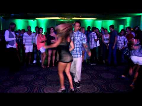 Naybi Rosellon with Jayson Molina & Christopher Maikoll Miami Salsa Congress 2012 Social Dancing