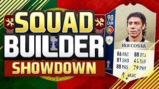 FIFA 18 SQUAD BUILDER SHOWDOWN!!! WORLD CUP COSTA!! Fifa 18 World Cup Mode Squad Builder Showdown