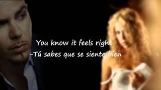 Pitbull -Get It Started -Traducida & English Lyrics Ft. Shakira