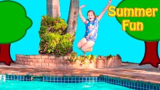 SUMMER TIME Fun Assistant  Water Slides and Zip Line Fun