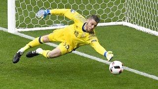 Best Goalkeeper Saves ● Euro 2016