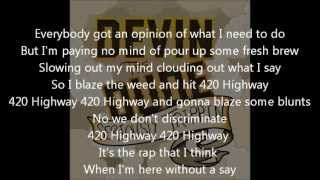 Devin The Dude- 420 Highway- Lyrics