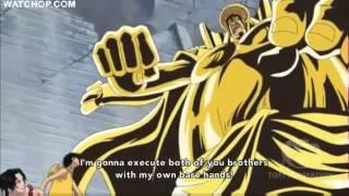 Luffy vs Sengoku