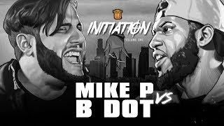 MIKE P VS B DOT SMACK RAP BATTLE | URLTV