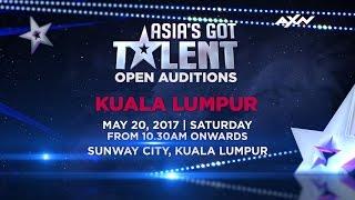 Open Audition in Kuala Lumpur | Asia