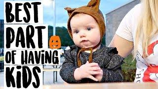 The Best Part of Having Babies || Halloween Week Vlog