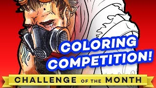 """""""COLOR OF LOSS"""" - January 2018 Challenge of the Month!"""