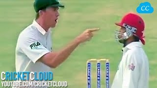 McGrath Sledging Shouting Screaming Pointing Finger But nothing worked at the End !!