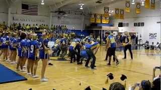 2012 NSA Varsity Cheerleader Football Player Dance
