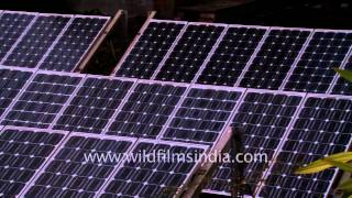 Solar power in use in the Sundarbans