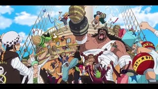 Dressrosa ending party - One Piece 745 ENG SUB