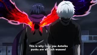 Tokyo Ghoul √A - Clip - Kaneki vs Ayato!