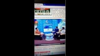 Andalib rahaman partho in bangla vision on 2 april 2013 part 1