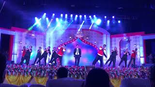 Lazy Dance performance by SJBIT Teaching Faculties with Principal sir