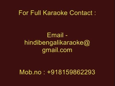 Chokher Jole Bhasiye Dilam - Karaoke - Paran Jai Jaliya Re (2009) - Zubeen Grag