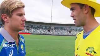 Aussies, Kiwis re-enact underarm ball