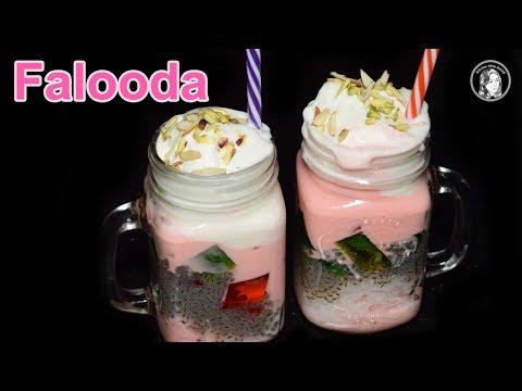 Xxx Mp4 Falooda Recipe With Homemade Sev Ice Cream Falooda Delicious Dessert Beverage Recipe 3gp Sex