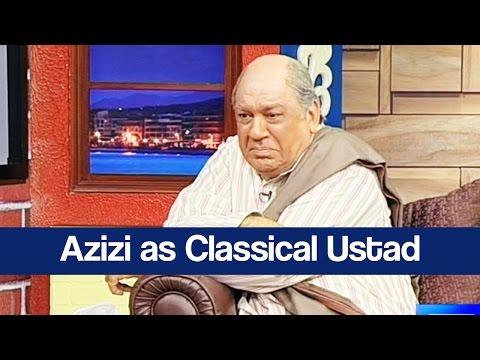 Hasb e Haal - 21 May 2017 - Azizi as Classical Ustad - حسب حال - Dunya News