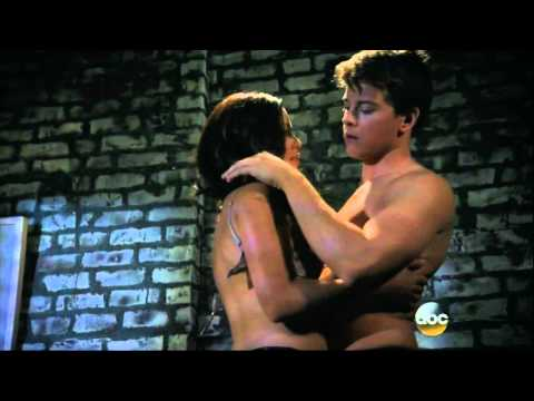 GH Michael and Sabrina make love 06 29 15