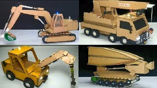 TOP 4 Unique Creation from Cardboard with Toys for Kids