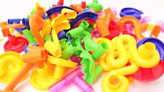 Building Blocks Toys for Children Marble Run Creative Fun for Kids
