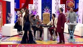 Faysal Qureshi,Ayaz Samoo,Aadi,Faizan & Fiza Shoaib playing