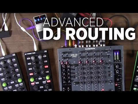 Advanced DJ Routing: Analogue Mixers, Guitar Pedals, and External Soundcards