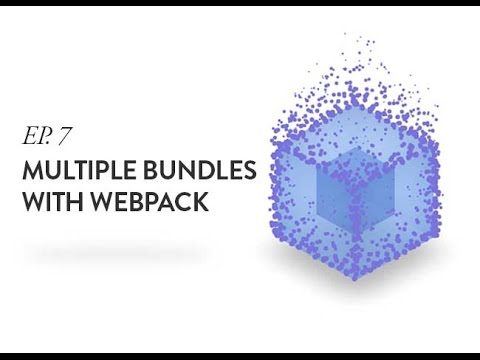 7. Creating Multiple Bundles for Multiple Pages with Webpack